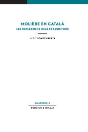 Molière en català. Les reflexions dels traductors